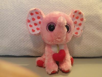 """Ty Beanie Boo Tender the Elephant -- 6"""" -- No Hang Tag"""