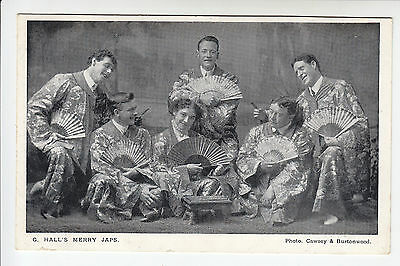 G. Hall's Merry Japs - Concert Party/Music Hall/Theatre - Men/Woman - PC (1304)