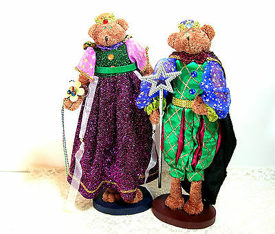 KIng And Queen Bears, Collectible Bears
