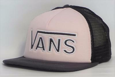 7058d9afd6a LIKENEW! WOMENS VANS OFF THE WALL TRUCKER HAT Floral Tropical Pink ...