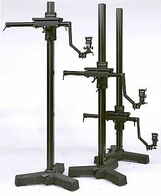 3 Cambo UBS 2 Studio Camera Stands w/ UCB Central locking bases & 3 gear heads