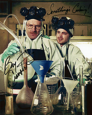 Bryan Cranston - Walter White - Breaking Bad - Signed Autograph REPRINT