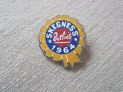 1964 BUTLIN'S SKEGNESS Holiday badge - Made by Pattorini England