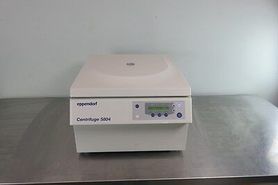 Eppendorf 5804 Benchtop Centrifuge with Warranty Video in Description