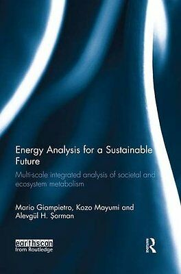 Energy Analysis for a Sustainable Future: Multi-Scale Integrated Analysis of Soc