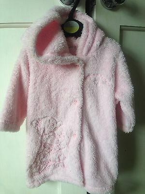 BNWT Humpreys Corner Soft Touch Dressing Gown. Girls. Age 0-6 Months