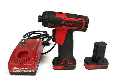 """Snap-On CTS761 1/4"""" Cordless Driver With Two Batteries and Charger Free Shipping"""