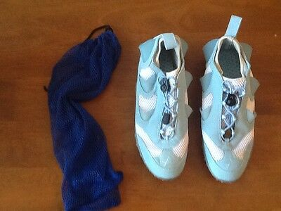 AQX Sports Aquatic Training Shoes Underwater Resistance Blue Womens Size 9