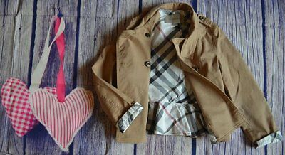 Burberry Girls Lightweight Jacket 8 Years Excellent Condition