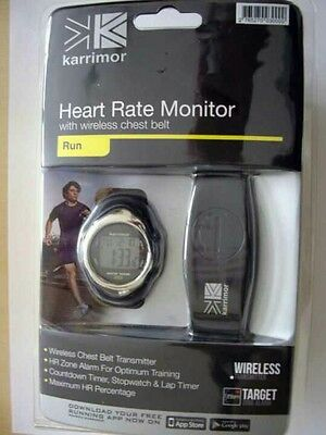 Karrimor Heart Rate Monitor With Wireless Chest Belt