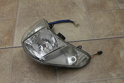 2009 Kymco Super 9 50 Oem Front Head Light Lamp Headlight