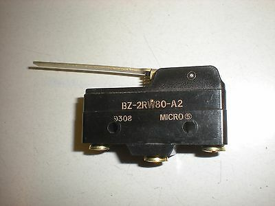 Honeywell MicroSwitch BZ-2RW80-A2 Lever Snap Switch - 15A - NOS