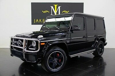 2016 Mercedes-Benz G-Class G63 AMG DESIGNO 2016 G63 AMG DESIGNO, ONLY 7K MILES, DIAMOND STITCHING, BLACK PIANO TRIM INSIDE
