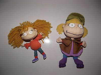 Vintage Rugrats Angelica Toy Bundle.Classic and Rugrats Go Wild 1998 Angelica x2