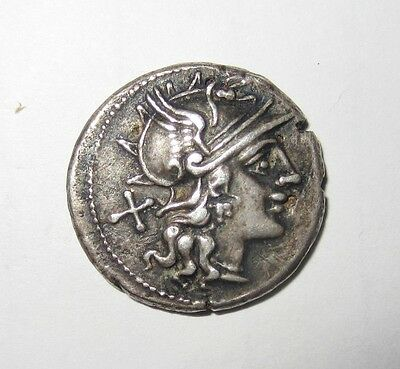Afranus fouree' denarius