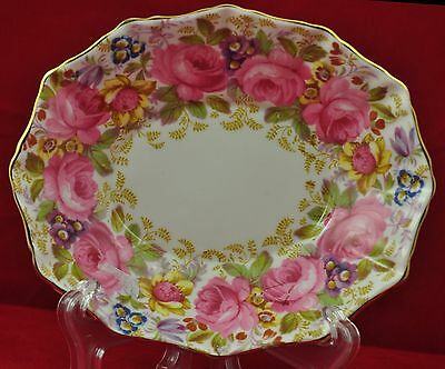 "Royal Albert ""Serena"" oval dish"