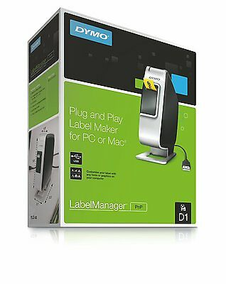 Brand New Dymo LabelManager PnP Label Maker Thermal Printer D1 1768960