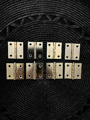 8---Solid Brass Shutter Hinges