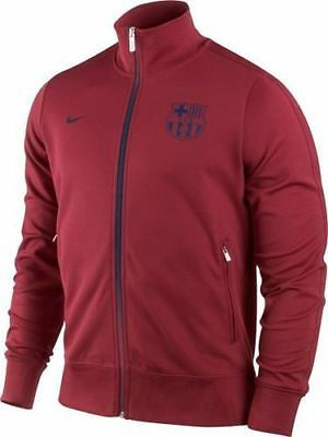 NIKE FC BARCELONA AUTHENTIC N98 JACKET Storm RedMid Navy
