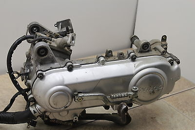2009 Kymco Super 9 50 Oem Engine Motor Liquid Cooled 50Cc Bottom End W/ Clutch