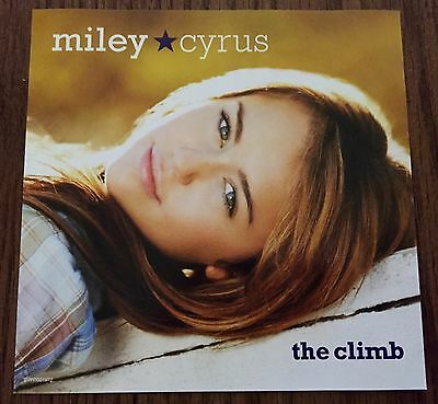 MINT CONDITION Miley Cyrus US THE CLIMB CD Walt Disney Promo Single 3 Track