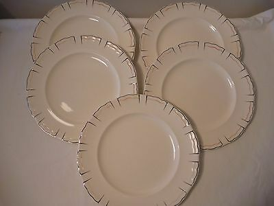 "Alfred Meakin ""Marquis shape Marigold"" plates 2 sizes, Ca 1930s"