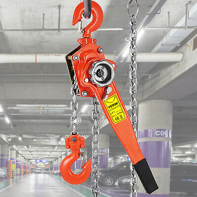 Brand New 3000kg 3T 1.5m Lever hoist chain  Comealong  Lever Block New