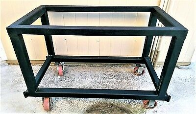 """Work Bench Table 46-1/2"""" W x 24-1/2"""" D x 29""""~36"""" H without Table Top"""