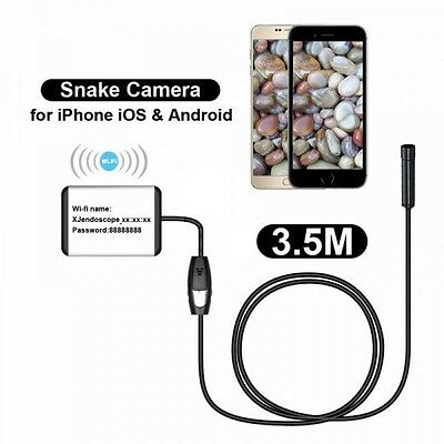 3.5M Wifi Endoscope Waterproof Inspection Camera Endoscope For Phone Andoid Ios