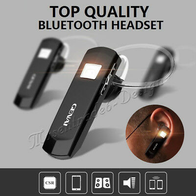 Bluetooth Wireless Handsfree Stereo Headset Earphone for iPhone Samsung LG HTC