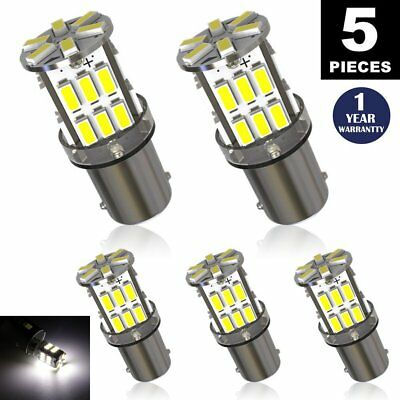 LUYED 5 x Super Bright 3014 30-EX Chipsets BA9 BA9S 53 57 1895 64111 LED Bulbs