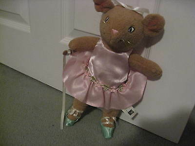 Angelina Ballerina Friend Brown Mouse Approx 12 Inch