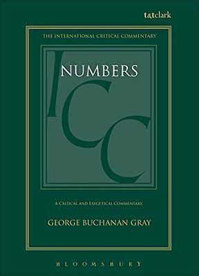 A Critical and Exegetical Commentary on Numbers Copertina rigida