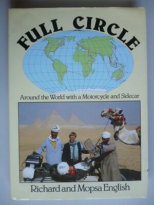 Full Circle Around the world with a Motorcycle and sidecar Richard Mopsa English