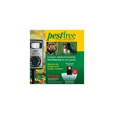 Pestfree - The Ultrasonic Pest Management System That Will Keep Your Garden Clea