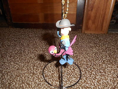 Rudolph and the Island of Misfit Toys Cowboy on Ostrich Keychain