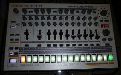 Roland Custom Tr-8 Tr-808 Tr-909 Tr-707 Tr-727 Tr-606 Drum Machine 7X7 Update