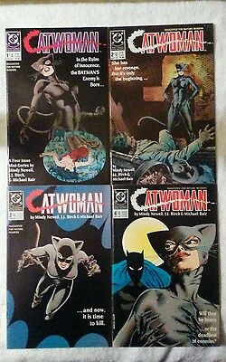 CATWOMAN #1-4 DC mini series vol 1 1989 NM or better