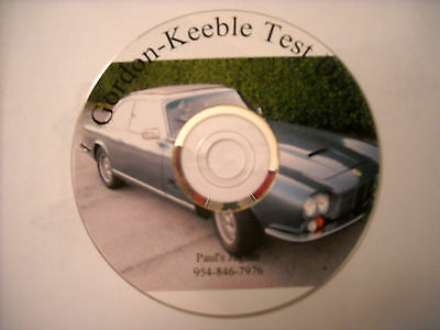 GORDON-KEEBLE Road Test DVD from 1992 'Top Gear' Show - FREE Delivery!