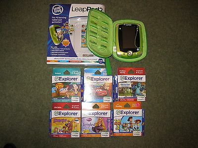 LeapPad Explorer 2 with 6 games and extras