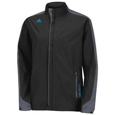 Adidas Climaproof 2 Layer Full-Zip Golf Gore tex Jacket BLACK Size XL Z88359