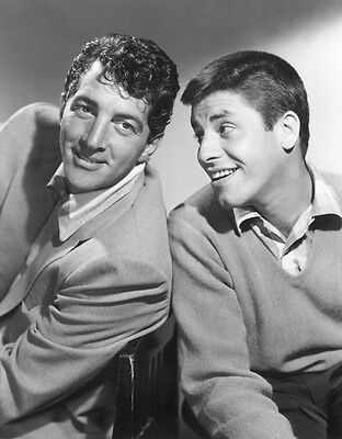 Dean Martin and Jerry Lewis UNSIGNED photo - H4522 - American comedy duo