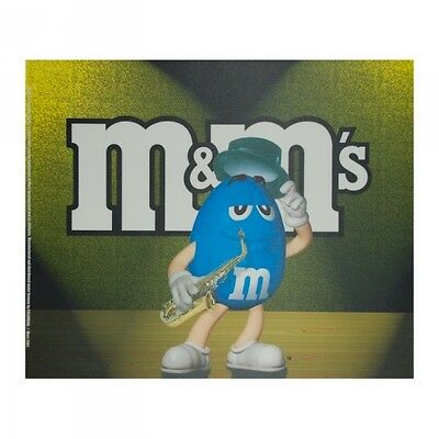 M&M´S Mousepad - Saxophon-Player - Neu - Top Zusant