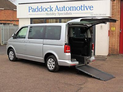 Volkswagen Caravelle 2.0 TDI DSG Disabled Wheelchair Adapted Vehicle WAV