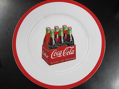 """Coca-Cola Plate """"6 Pack"""" - NEW"""