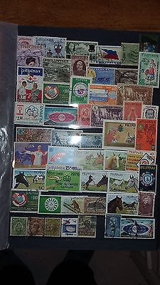 50 timbres Philippines (lot 23b)