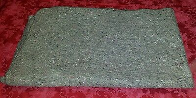 "3 LB Heavy Duty Wool Blend Blanket Military/ Wilderness/Survival/Camping/60""×80"""