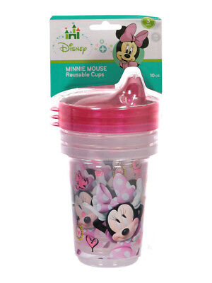 """Minnie Mouse """"Shy Minnie"""" 3-Pack Reusable Cups 10 oz."""