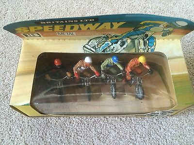 Rare Britains Speedway riders Boxed - Model 9650