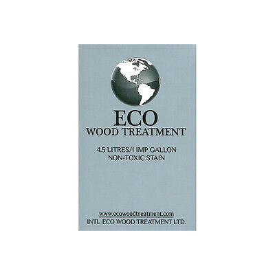 Eco Wood Treatment   EWT-1 gallon size ,stain,and preser